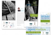 Yarra Valley Open Studios book and signage
